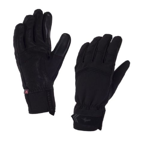 SealSkinz Unisex Performance Activity Glove Large - Leather Palm, Waterproof